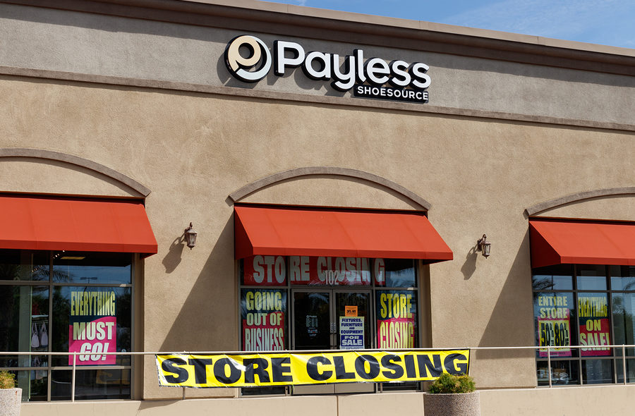 Retailers and U.S. Businesses that Filed for Bankruptcy in 2019