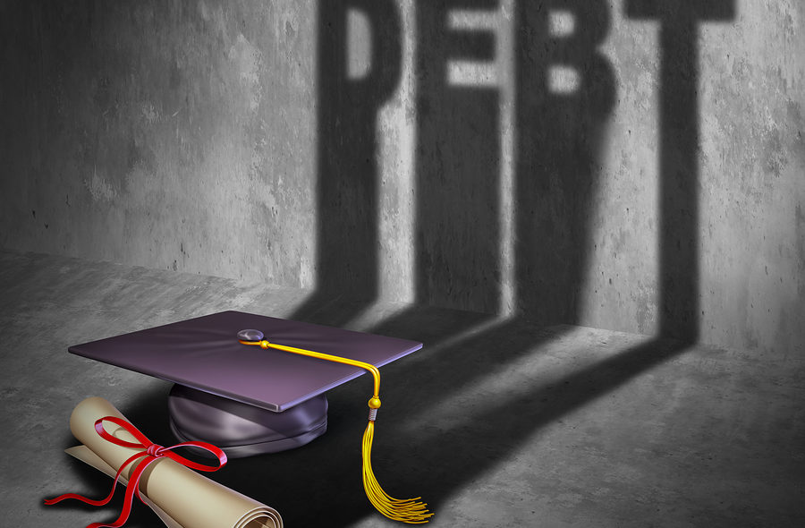 Entering Retirement with Student Loan Debt